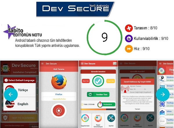 Türkiye'nin Tamamen Yerli Antivirüs Yazılımı: Dev Secure
